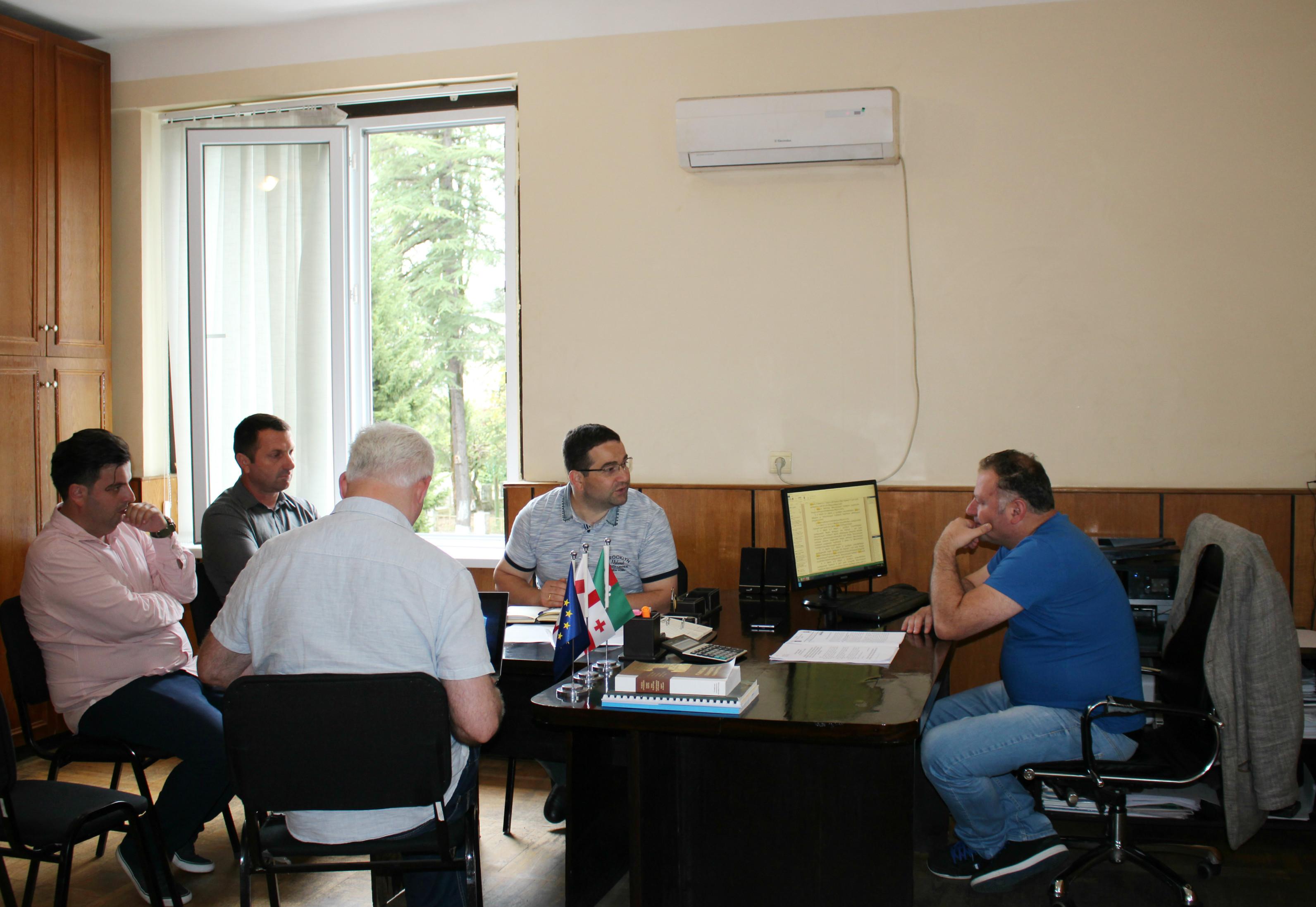 Working meetings in Upper Ajara Municipalities