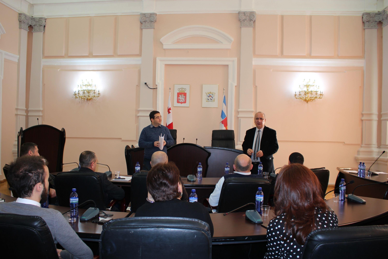 Meeting at Batumi Municipal Assembly