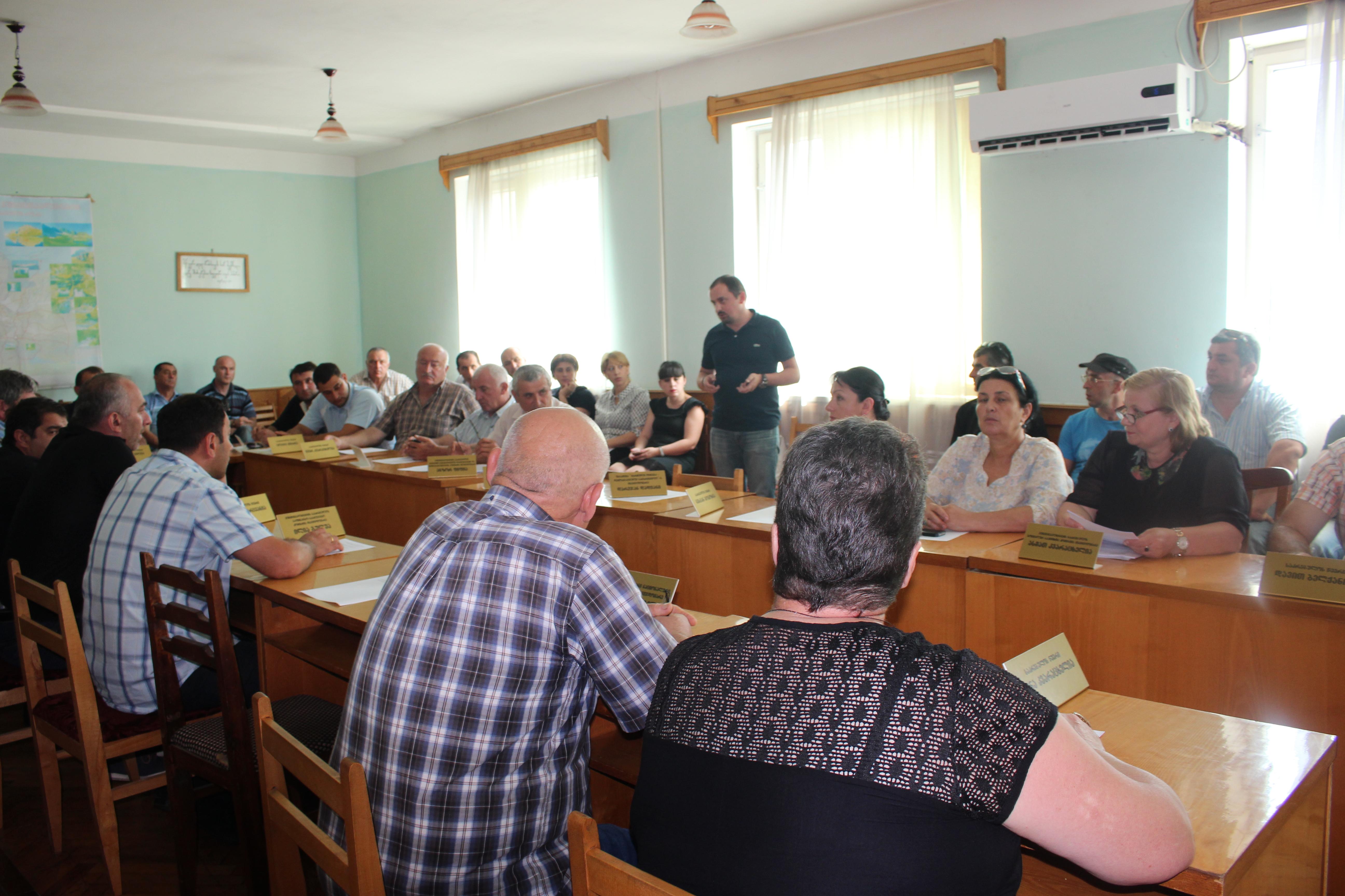 პრეცედენტი წალენჯიხის მუნიციპალიტეტის საკრებულოში - თვითმმართველობამ მოქალაქეების მიერ ინიცირებული პეტიციების განხილვა დაიწყო