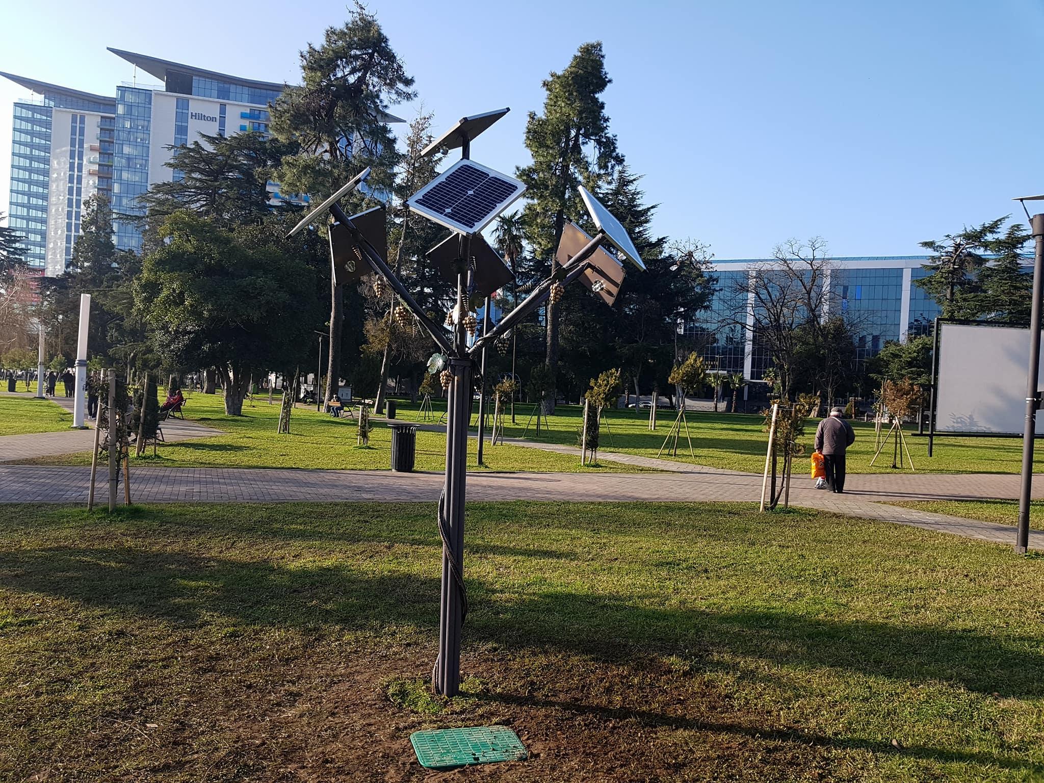 მზის ენერგიაზე მომუშავე განათება (EN)