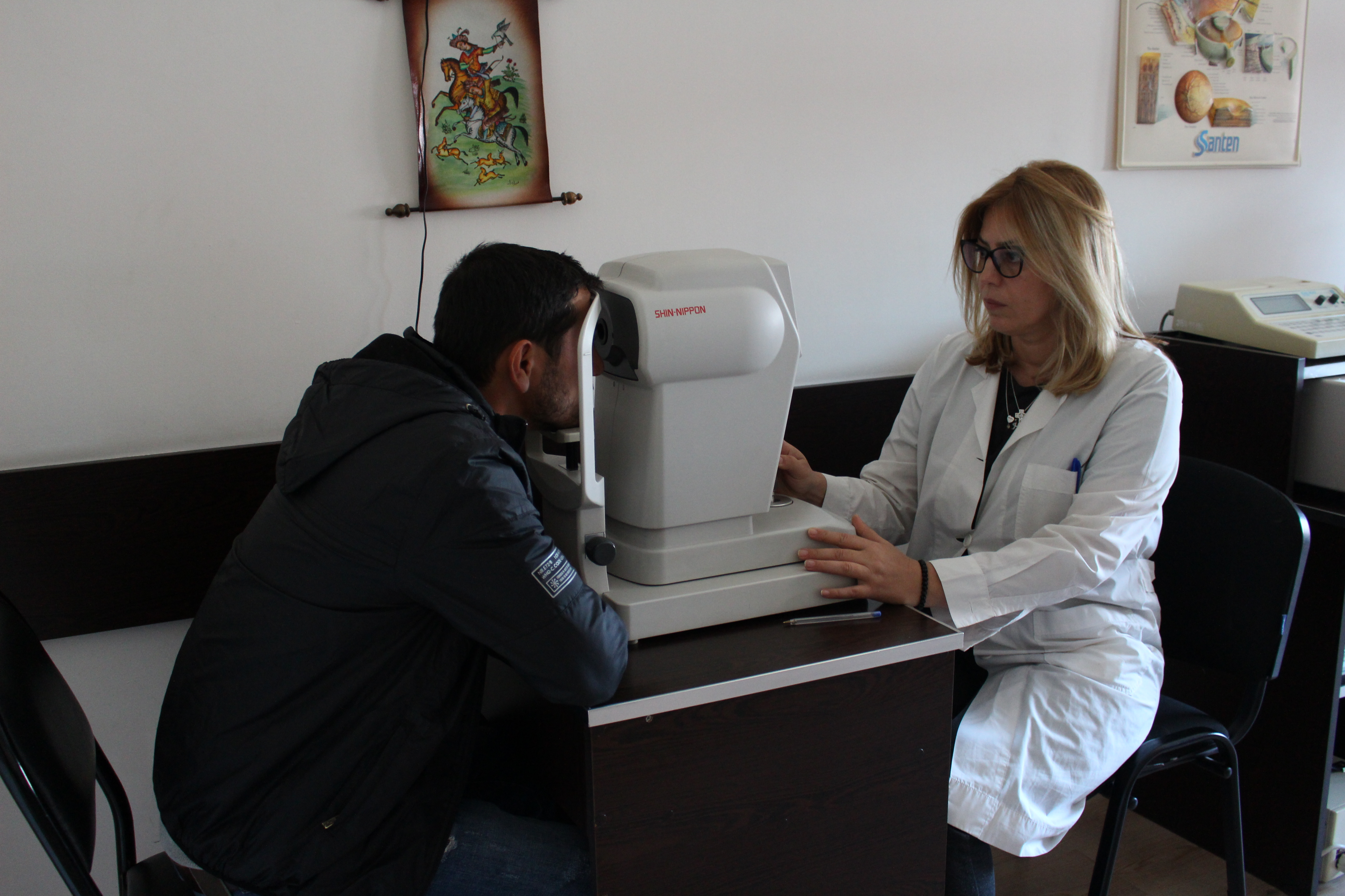 Free Ophthalmic examination of prisoners