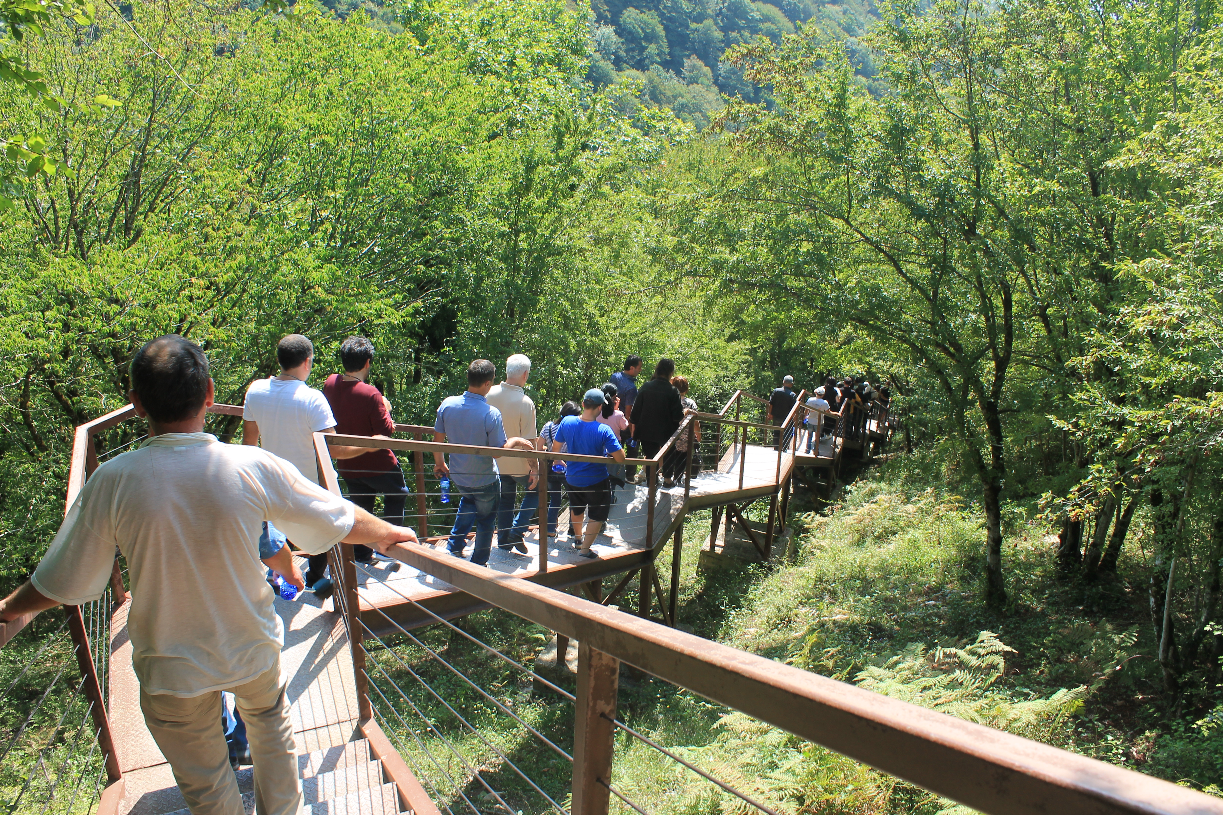 Excursion organized for former inmates in Imereti